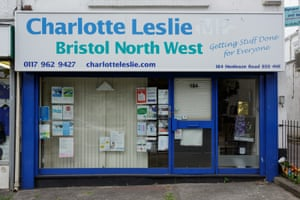 The office of the former Bristol North West MP Charlotte Leslie.