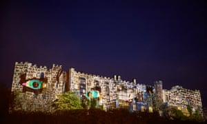 More projections onto the castle