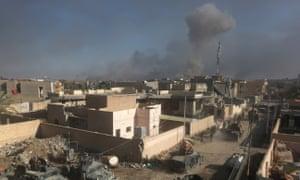 US military Islamic State air strikes civilians