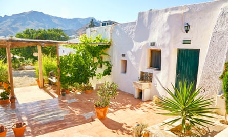 An attractive outdoor area at Huzur Vadisi, Almeria, Spain