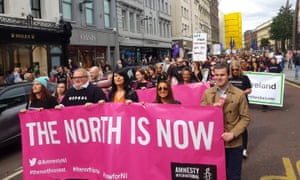 Rally for Choice in Belfast
