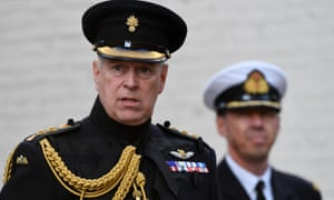 A royal controversy ... Prince Andrew.