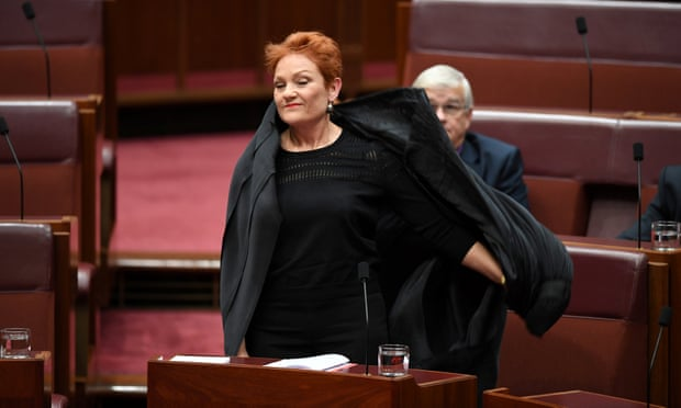 theguardian.com - Katharine Murphy - Brandis stands up for decency after burqa stunt - but that's exactly what Hanson wanted | Katharine Murphy