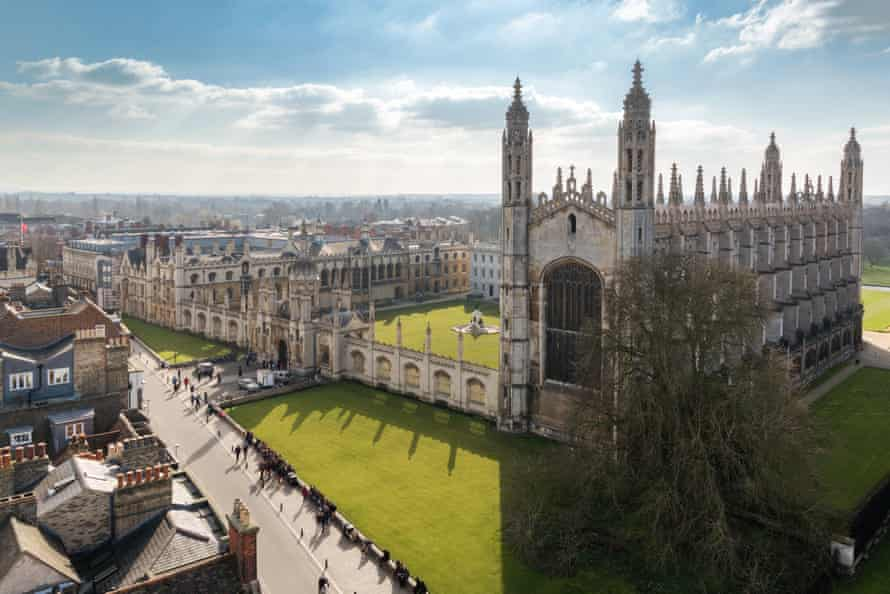 King's College chapel, Cambridge University.