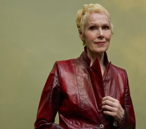 Head shot of E Jean Carroll, who has accused Donald Trump of sexual assault