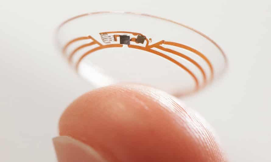The smart contact lens