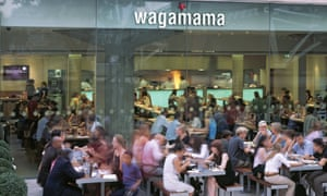 A Wagamama Restaurant in Southbank Centre.