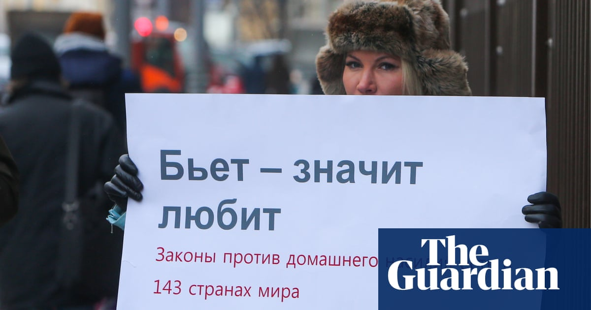 Decriminalisation of domestic violence in Russia leads to fall in reported cases
