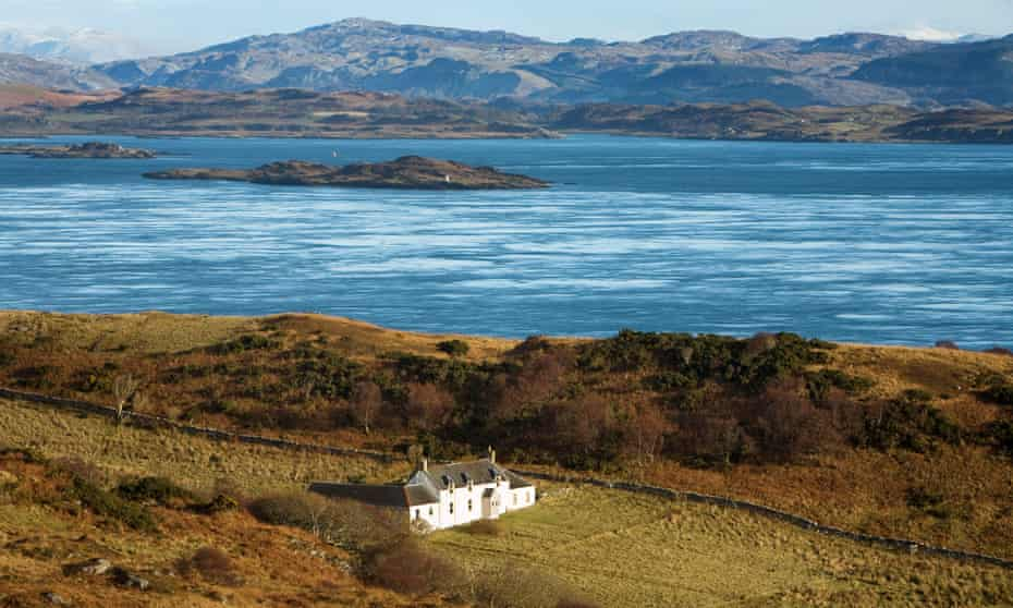 David Astor, Orwell's editor at the Observer, recommended the writer finish Nineteen Eighty-Four at Barnhill, a house on Jura.