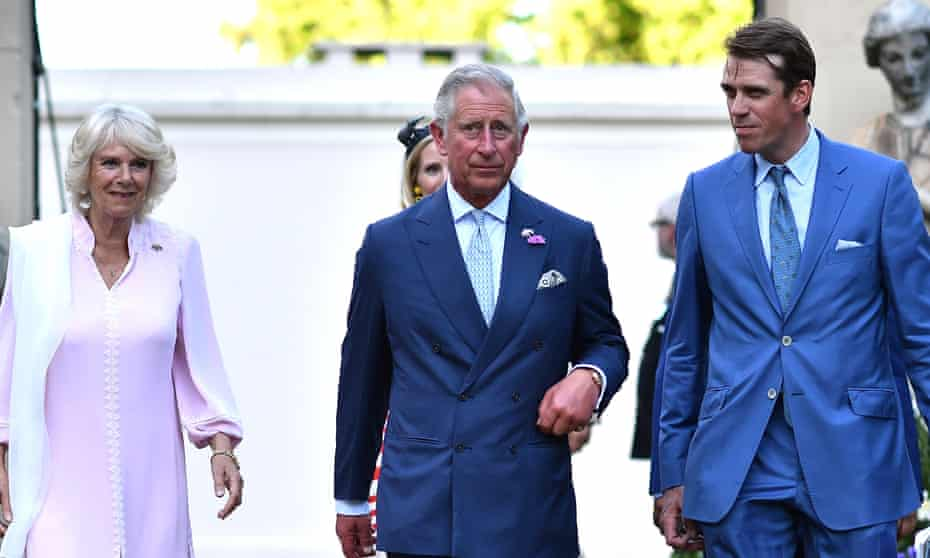 Ben Elliot with Prince Charles and the Duchess of Cornwall in 2015