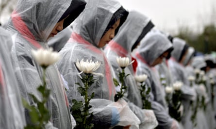 China marking the third national memorial day for the Nanjing Massacre victims today