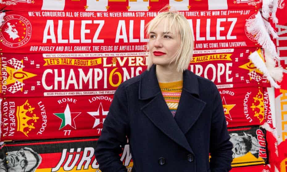 Hannah Jane Parkinson at Anfield.