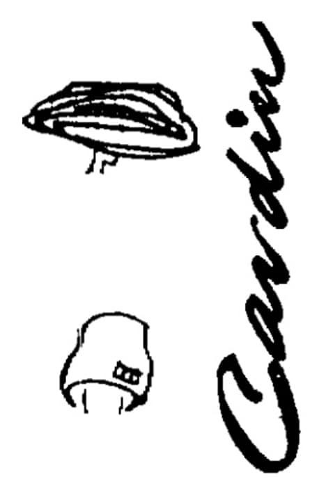 Cecil Beaton illustration Cardin, Observer 22 June 1958.