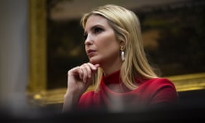 Ivanka Trump posted a video to Twitter last month urging all who can to 'please do your part' to fight coronavirus by practicing social distancing.