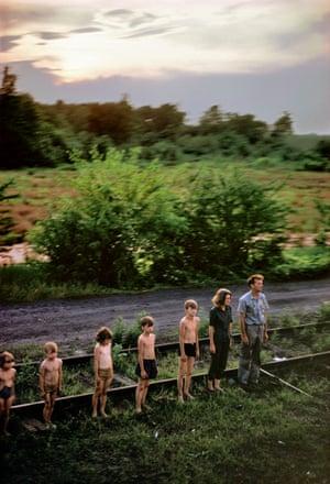 US 1968. Robert KENNEDY funeral train.