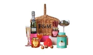 Valentine gift basketfortnumandmason.com