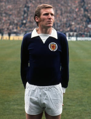 Scotland's Billy McNeill lines up at Hampden Park, Glasgow.before their 2-0 win over Northern Ireland in the 1972 British Home Championship. McNeill won 29 caps and scored three times for the national side