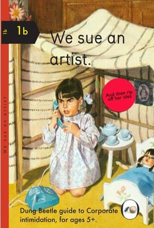 We Sue an Artist by Miriam Elia