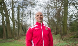 Dino Maamria, manager of Stevenage