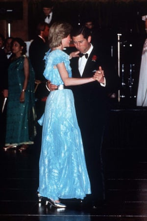 Diana and Charles in Australia in 1983.