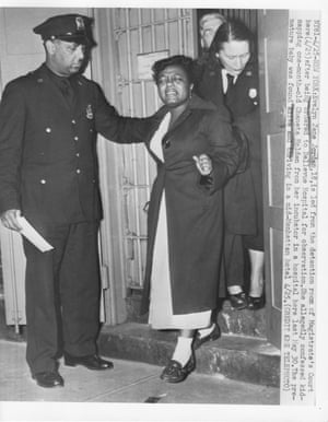 Evelyn Jane Jordan was arrested and taken back to the hospital to re-enact her kidnapping.