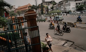 Jalan Pintu Besar Selatan in the Chinatown of Glodok in West Jakarta, Indonesia. Rony Zakaria for The Guardian.