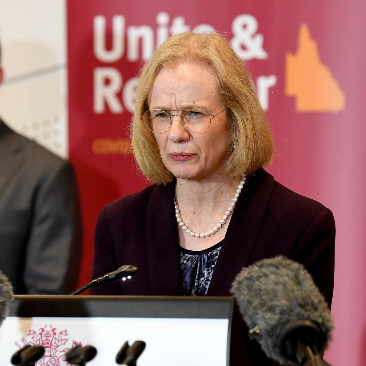 Queensland S Chief Health Officer Given Police Protection After Death Threats Queensland The Guardian