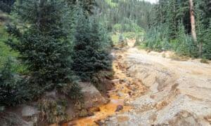 EPA New Mexico Colorado toxic river spill