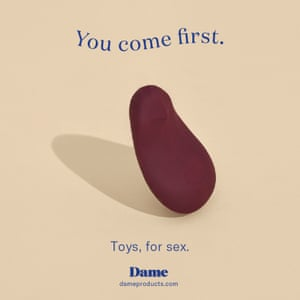 Another of Dame Products's proposed ads.