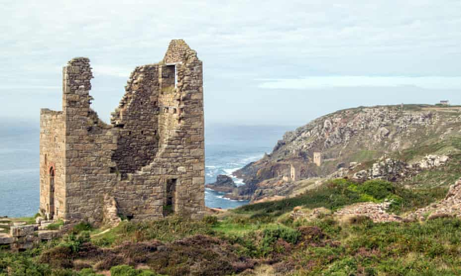 Wheal Edward and the Crowns, Tin Mines, Botallack, Cornwall UK