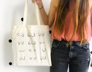 Titties Totes – one of dozens of breast-branded fashion.