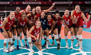 Team USA women's volleyball team Tokyo 2020