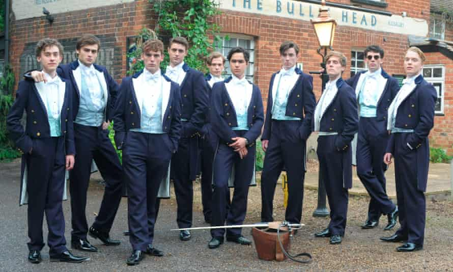 Alexander acting in 2014's The Riot Club