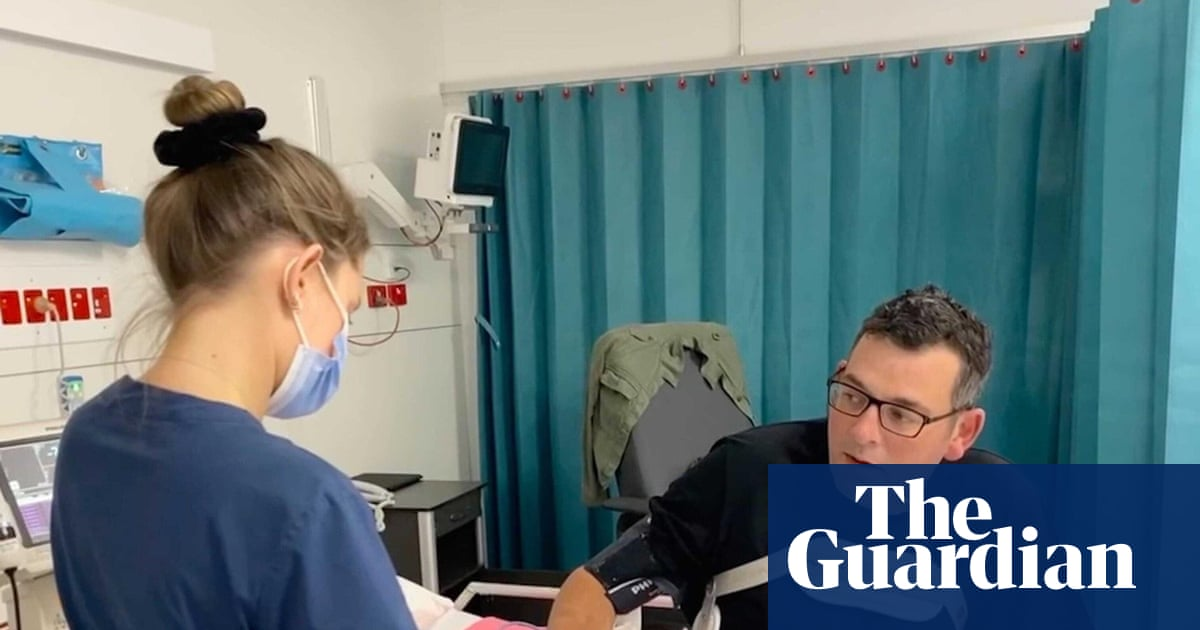Daniel Andrews 'narrowly avoided a life-changing injury' when he fell on slippery stairs – The Guardian