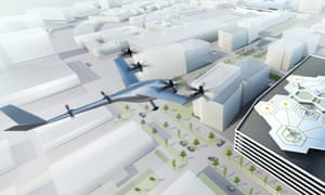 Uber's vision for flying taxis