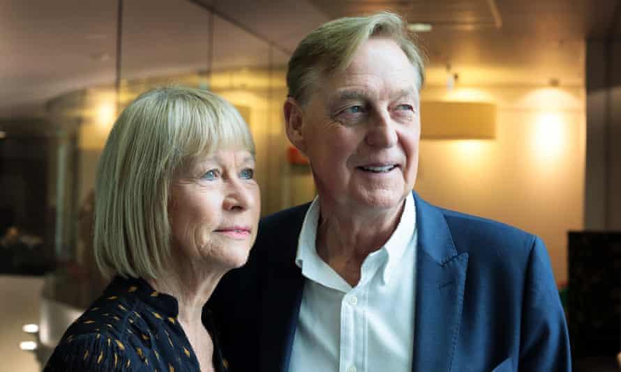 Irene and John Hays, of Hays Travel.