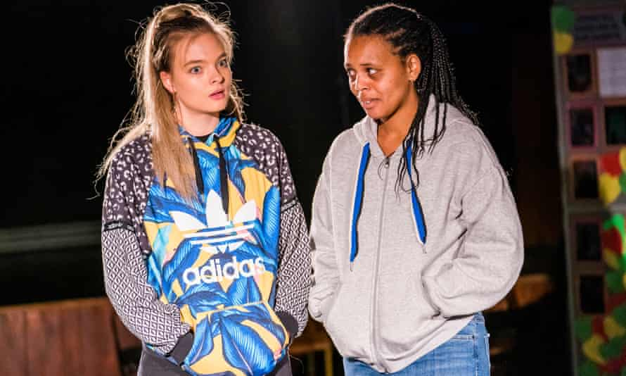 Young women on a mission ... Alice Franziska and Bianca Stephens in The Burning Tower.