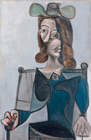 Picasso Woman in a Hat (1941)
