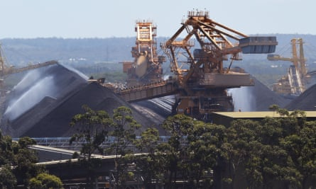 Coal at the Port of Newcastle