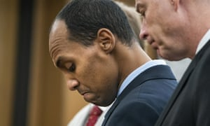 Mohamed Noor in court on Friday. Judge Kathryn Quaintance handed the 33-year-old a sentence identical to the recommendation under state guidelines.