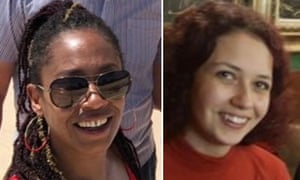 Sisters Bibaa Henry (left) and Nicole Smallman.