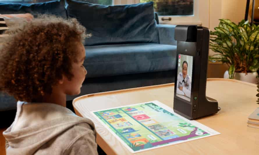 Glow is a new type of interactive remote play device to make video calls with grandparents more engaging for kids.