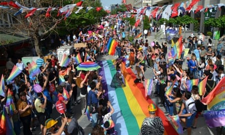 LGBT pride gathering in Ankara where activists are fighting an oppressive government.