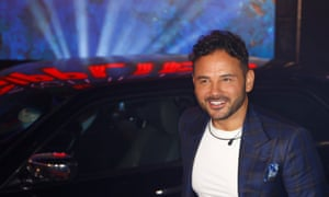 Contestant Ryan Thomas on the show Celebrity Big Brother.