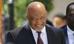 South Africa's deputy finance minister Mcebisi Jonas.