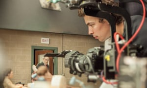 On the set of the animated stop-motion film, Anomalisa, by Paramount Pictures