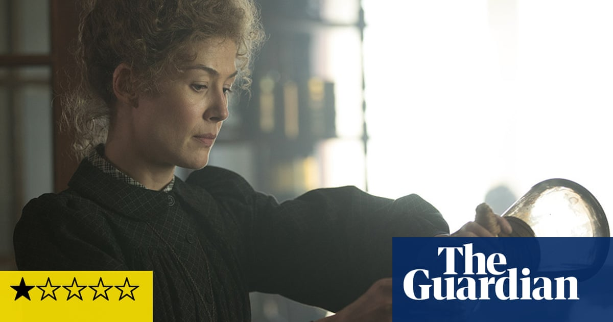 Radioactive review – Rosamund Pike flounders in toxic Marie Curie biopic