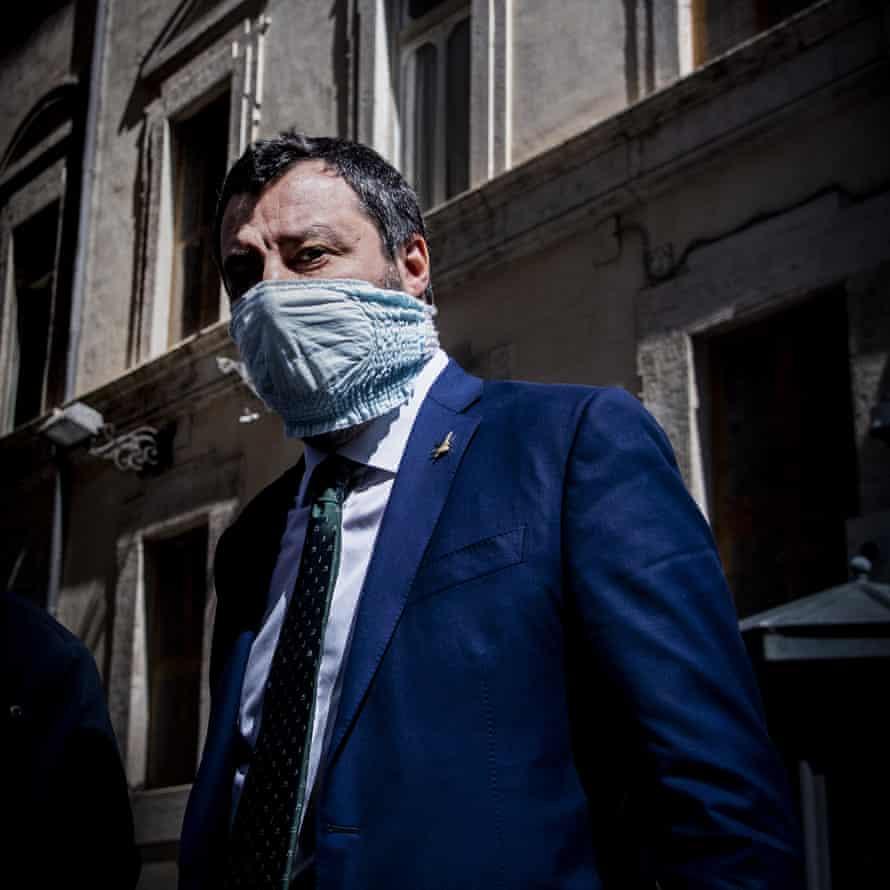 Lega party leader Matteo Salvini in Rome last month.