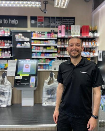 Richard Inglis at Welcome Stores, Southampton