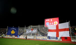 There were numerous signs of support from home fans for the English.